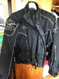 Motor bike cloth jacket and trousers