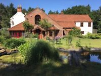 last minute availability 7th to friday 11th august warren house sleeps 12-16, pool , hottub