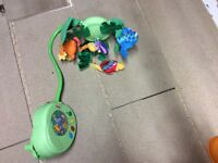 Fisher price cot mobile - like new