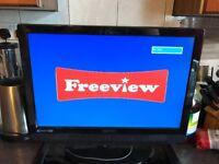 "Technika 22"" LCD TV freeview DVD"