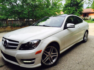 2012 Mercedes C 250 Coupe AMG, Entertainment & Luxury Package