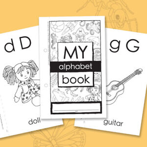 Alphabet-Learning Colouring Book Offer (FREE)