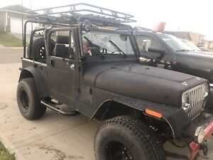 1994 yj lots of aftermarket parts