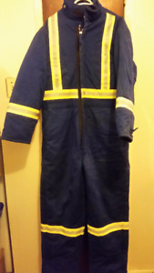 Insulated Fire rated Coveralls for extreme winter cold heavy