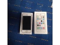 APPLE IPHONE 5S 16GB GOLD GOOD CONDITION FULLY BOXED