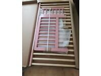 kinder valley kai toddler bed dusky pink. Brand new in box.