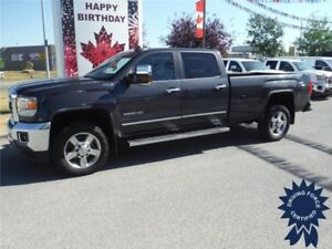 2016 Sierra 2500HD-SLT-Z71-Diesel-Long Box-Leather-Sunroof