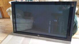 LG 55'' Plasma TV.