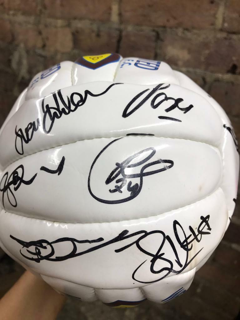 WestHam signed footballin Great Baddow, EssexGumtree - Collectors Hand signed WestHam football Few scratches (see pictures)Collection only from Great Baddow