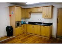 Fully fitted kitchen integrated dishwasher, fridge & microwave