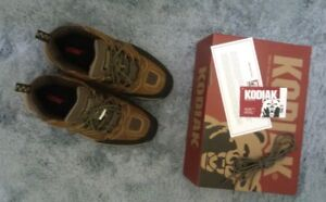 New - Kodiak Waterproof Steel Toe Shoes.