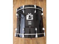 Yamaha Oak Custom 22x17 Bass Drum Musashi Black Finish