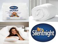 URGENT Silentnight Hollowfibre 10.5 Tog Duvet Super King Size, USED ONCE