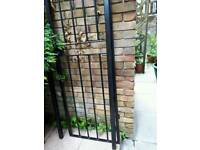 Security Gate With Frame