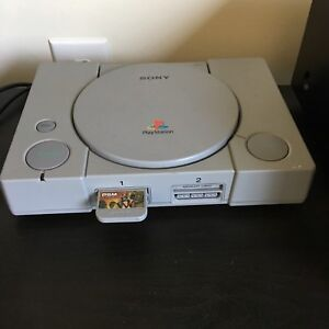 PS 1 with Accesories and 3 Games