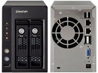 QNAP TS-239 Network Attached Storage (No disks included)
