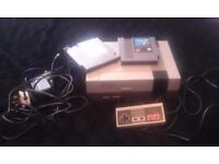 NINTENDO NES CONSOLE WITH GAMES