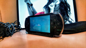 Sony PSP with 3 games!