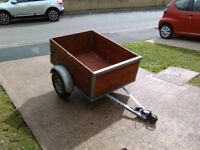 Car trailer for sale good strong steady trailer ready for work