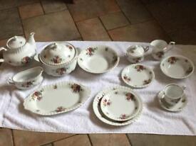 Twelve piece Royal Albert dinner / Tea set for sale