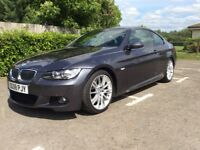 BMW 330d m sport keyless entry+drive f/s/h Bluetooth paddle shift front and rear pdc