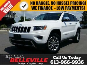 2016 Jeep Grand Cherokee Company Vehicle - Limited - Leather - B