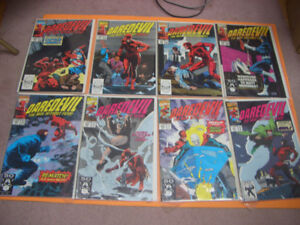 (16) MARVEL DAREDEVIL COMICS FOR SALE 1990S