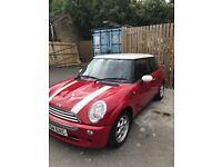 2004 Red Mini Cooper 1.6