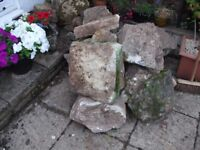 Large and Smaller Rockery Stone For Sale - £20 ono