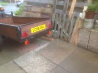 Goods trailer 7x4 refurbished £400.00 Ono.