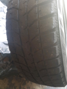 Tires winter 225 55 R18 set of 2