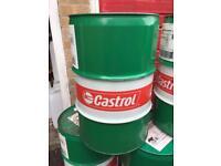 60 Litre metal oil drum barrel BBQ burner incinerator horse jump storage allotment