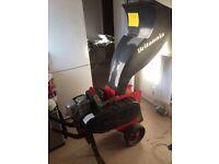 Brittanya petrol log shredder Honda 4 stroke 5hp