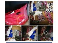 Bundle of ladies clothes size 8 / 10 and bags