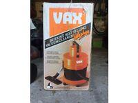 VAX WET & dry vacume