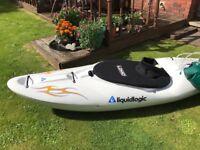 Kayak Canoe Liquid Logic Jefe Kayak
