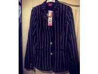 Stripy Blazer (With Tags) - Brand New - Size 16