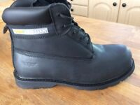 ARCO TROJAN HIGH LEG UTILITIES SAFETY / WORK BOOTS SIZE 8