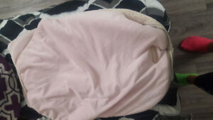 Pink carseat cover