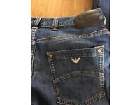 "Armani Jeans - Mens jeans 32"" waist x 34"" leg"