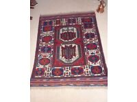 Genuine Vintage Persian Rug, Wool, Tribal, Rare