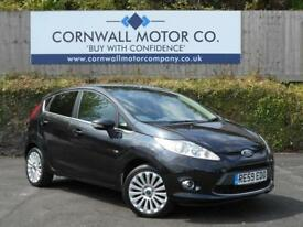 FORD FIESTA 1.6 TITANIUM TDCI 5d 89 BHP ONLY £20 A YEAR (black) 2009
