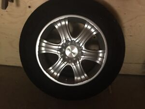 "4 FAST ALLOY 17"" RIMS with Pressure Sensors"
