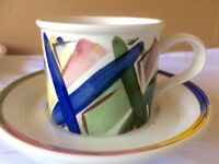 New John Lewis cup, saucers and side plates