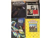 Large collection of Guitar Greats tab books