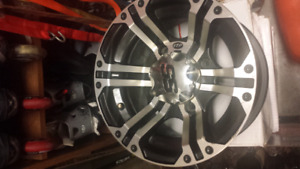 "(x4) ITP  SS212 (12"") Rims For Sale (Can Am Bolt Pattern)"