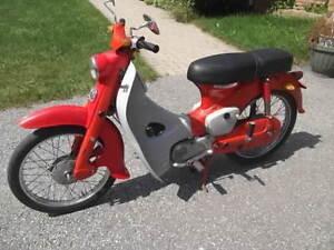 1962 Honda 55  Model C105