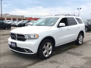 2015 Dodge Durango LIMITED**LEATHER**SUNROOF**DVD PLAYER**NAV**