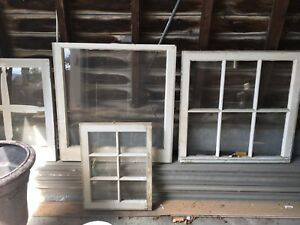 Vintage windows - great for glass art projects