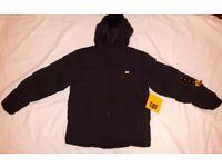 Brand New Men's/boy's Caterpillar puffer jacket – size small